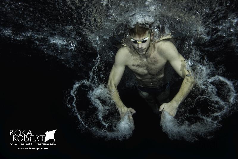 Kenderesi Tamás olimpia bronzérmes úszó