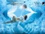 Várandós anyuka víz alatti fotózás